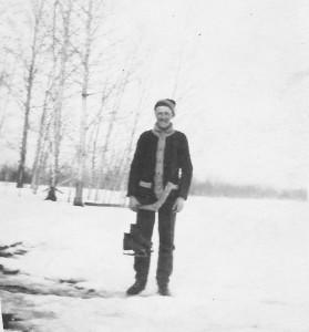 Harold at 18 1913