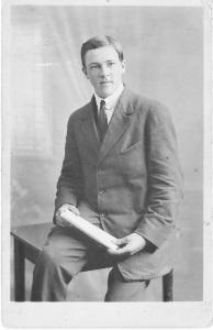 Harold, photo taken in 1914.